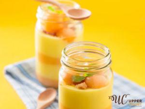 Seasonal Mango Puddings