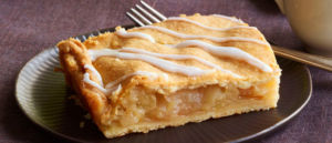 Butter pie with Apples & Cheese