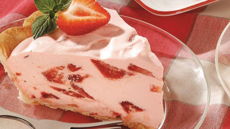 Strawberry Pie with SingleCrust