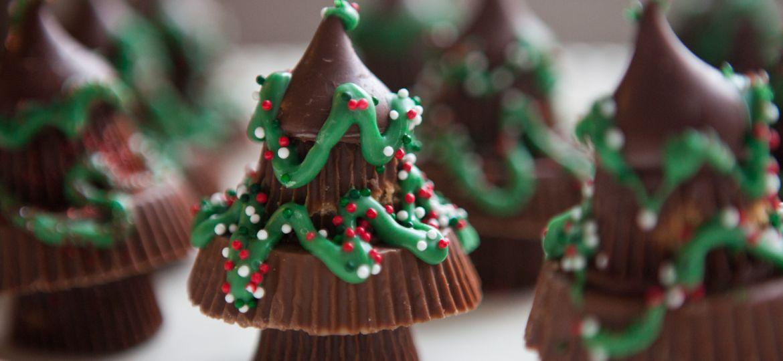 Moist Chocolate Cake Xmas Trees Recipe