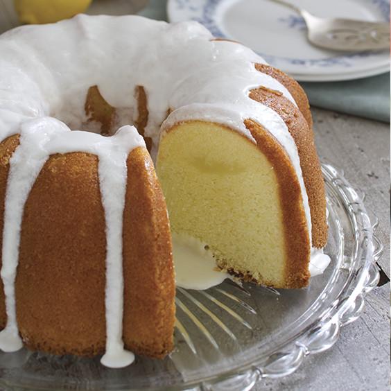 Lemony Yogurt Pound Cake