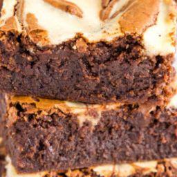 mocha-cheesecake-brownies